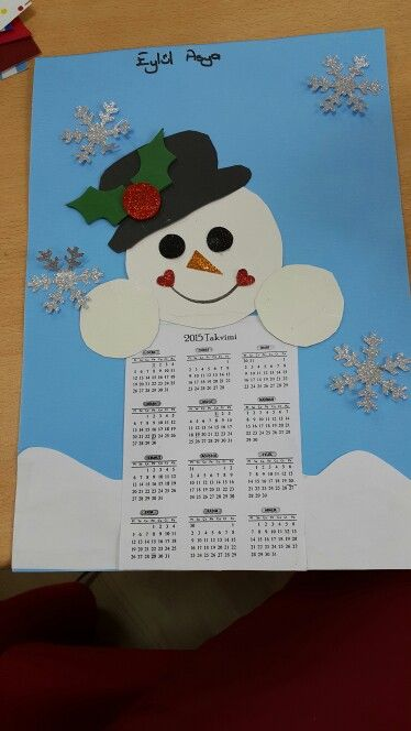 calendar craft