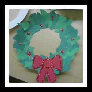 christmas-wreath-craft