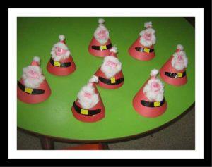 cone-shaped-santa-claus-craft-idea