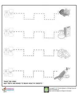 dental health worksheet for kids