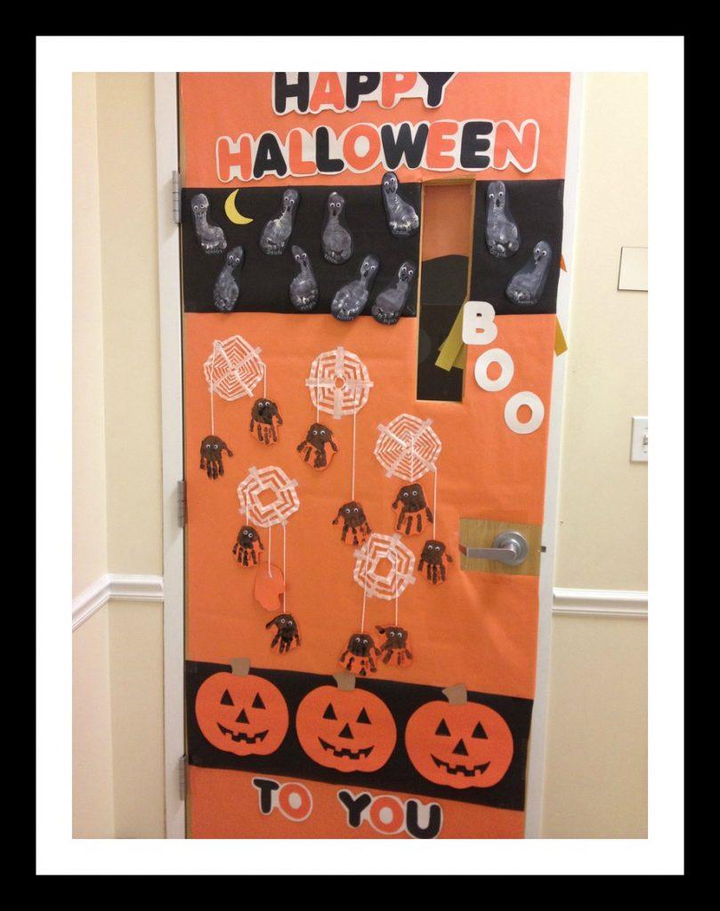halloween-door-decoration-idea-for-kindergarten