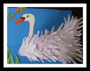handprint-swan-bulletin-board-idea-for-kids