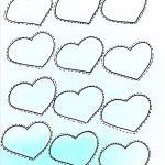 heart template
