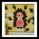 hedgehog craft idea