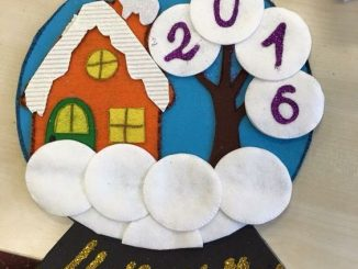house calendar craft