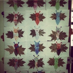 leaf butetrfly craft idea