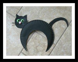 paper-plate-black-cat-craft