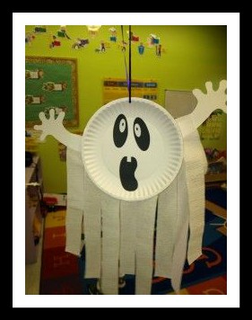 paper-plate-ghost-craft-idea