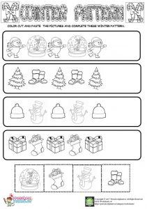 pattern worksheet for kids