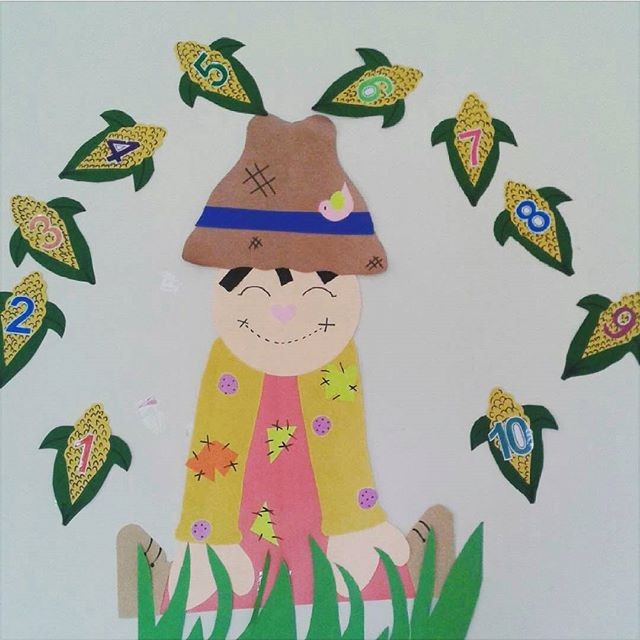 scarecrow bulletin board idea for kids