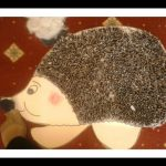 seed hedgehog craft