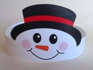 smiling snowman idea
