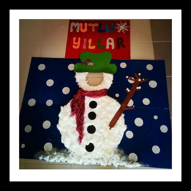 snowman-bulletin-board-idea