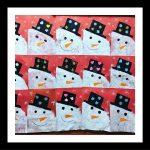 snowman craft for kindergarten