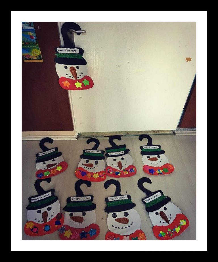 snowman craft idea