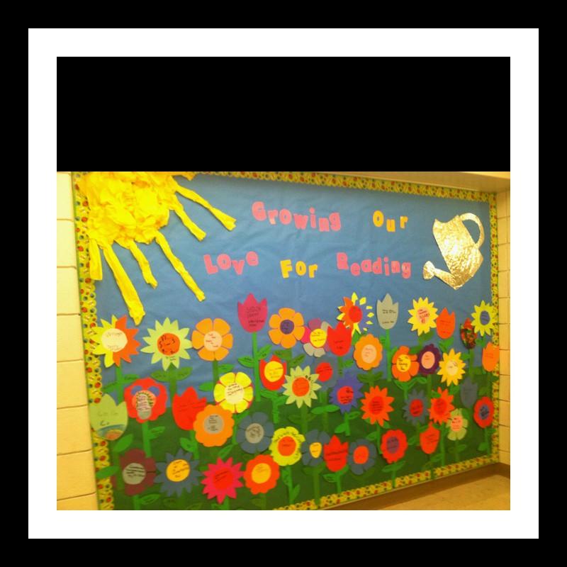 Spring Bulletin Board Idea For Kindergarten Preschoolplanet