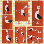 stork craft idea for kids