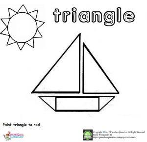 triangle worksheet