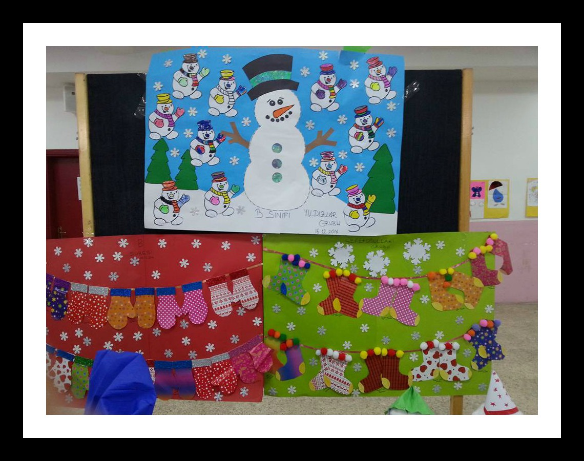 winter caft idea for kindergarten