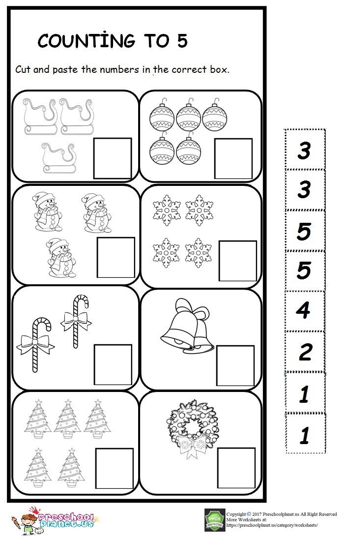winter count number worksheet for kids preschoolplanet. Black Bedroom Furniture Sets. Home Design Ideas