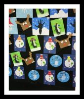 winter craft idea for kindergarten