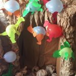 balloon dinosaur craft