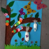 butterfly bulletin board idea