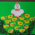 chick bulletin board idea