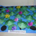cone shaped turtle bulletin board idea