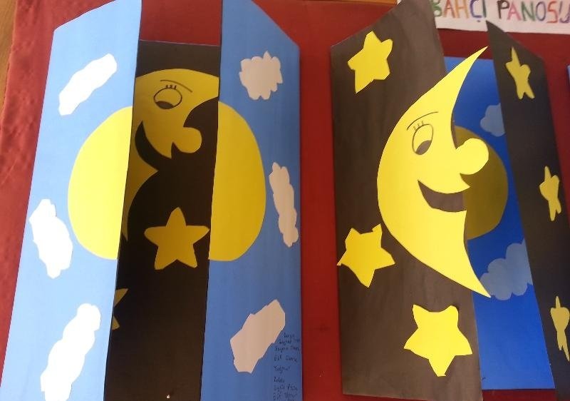 day and night craft idea for kids
