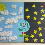 day and night craft - idea for kids