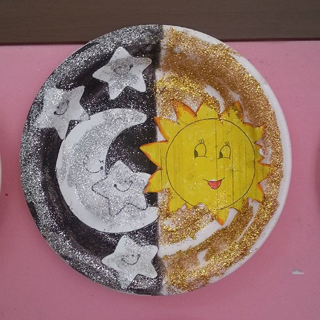 day and night craft idea- for kids