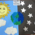 day&night bulletin board idea -for kindergarten