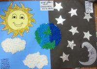 day&night bulletin board idea -for kindergarten