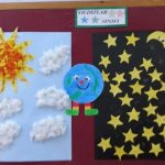 day&night bulletin- board idea for kindergarten
