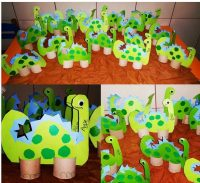 dinosaur craft idea for kids