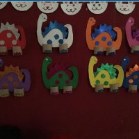 dinosaur craft idea for toddlers