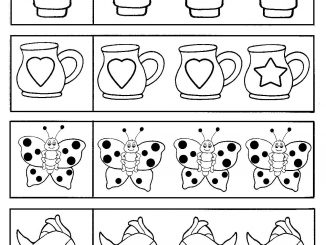 printable same and different worksheet Archives - Preschoolplanet
