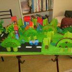 paper plate dinosaur craft