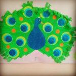 peacock bulletin board idea