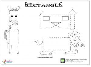 rectangle trace worksheet