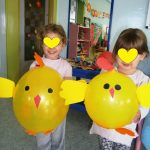 balloon chick craft idea