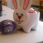 bottle easter bunny craft