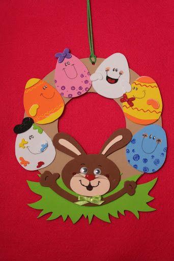 bunny-easter-wreath-craft-idea
