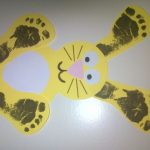 footprint-bunny-craft-idea