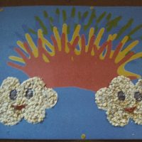handprint rainbow craft idea