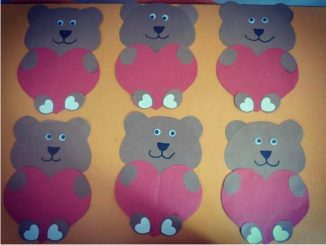 heart bear craft