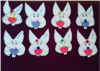 heart bunny craft
