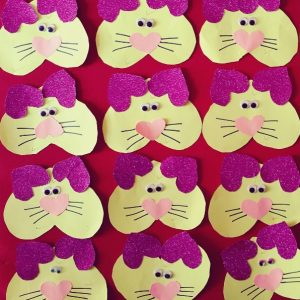 heart cat craft