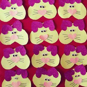 heart cat craft